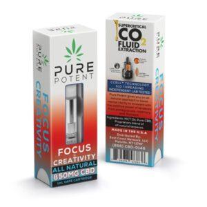Buy Pure Potent | Focus Creative Vape cartridges