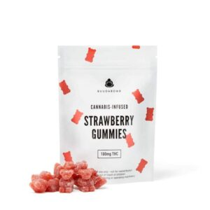 Buy BuudaBomb Strawberry Gummies Online UK