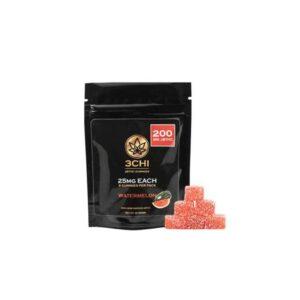 3Chi Watermelon Delta 8 THC Gummies UK – 25mg