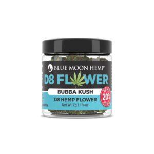 Bubba Kush Hemp Delta 8 THC Flower UK