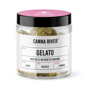 Canna River Gelato UK Delta 8 Flower