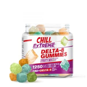 Buy Chill Plus Extreme 20mg Delta 8 THC Gummies UK– Fruity Mix