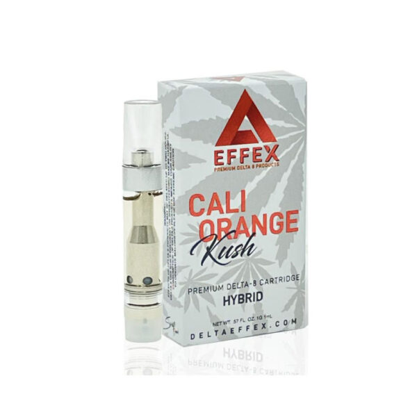 Cali Orange Kush Delta 8 THC Vape Cartridge UK