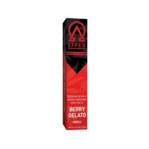Delta Effex Delta 8 Disposable Vape with THC UK - O – Berry Gelato 1G