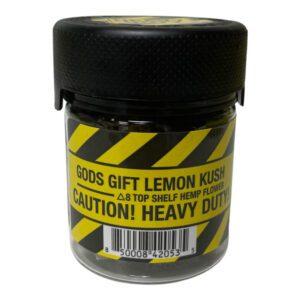 Gods Gift Lemon Kush Delta 8 THC UK Flower – 5g