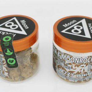 Jazzy CBG White Rhino Delta 8 THC Moon Rocks UK 7 Grams