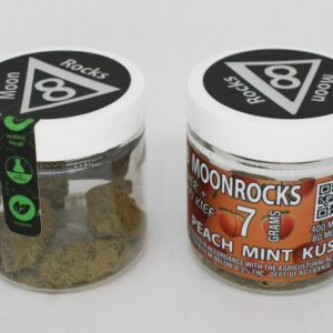 Peach Mint Kush Delta 8 THC Moon Rocks UK 7g